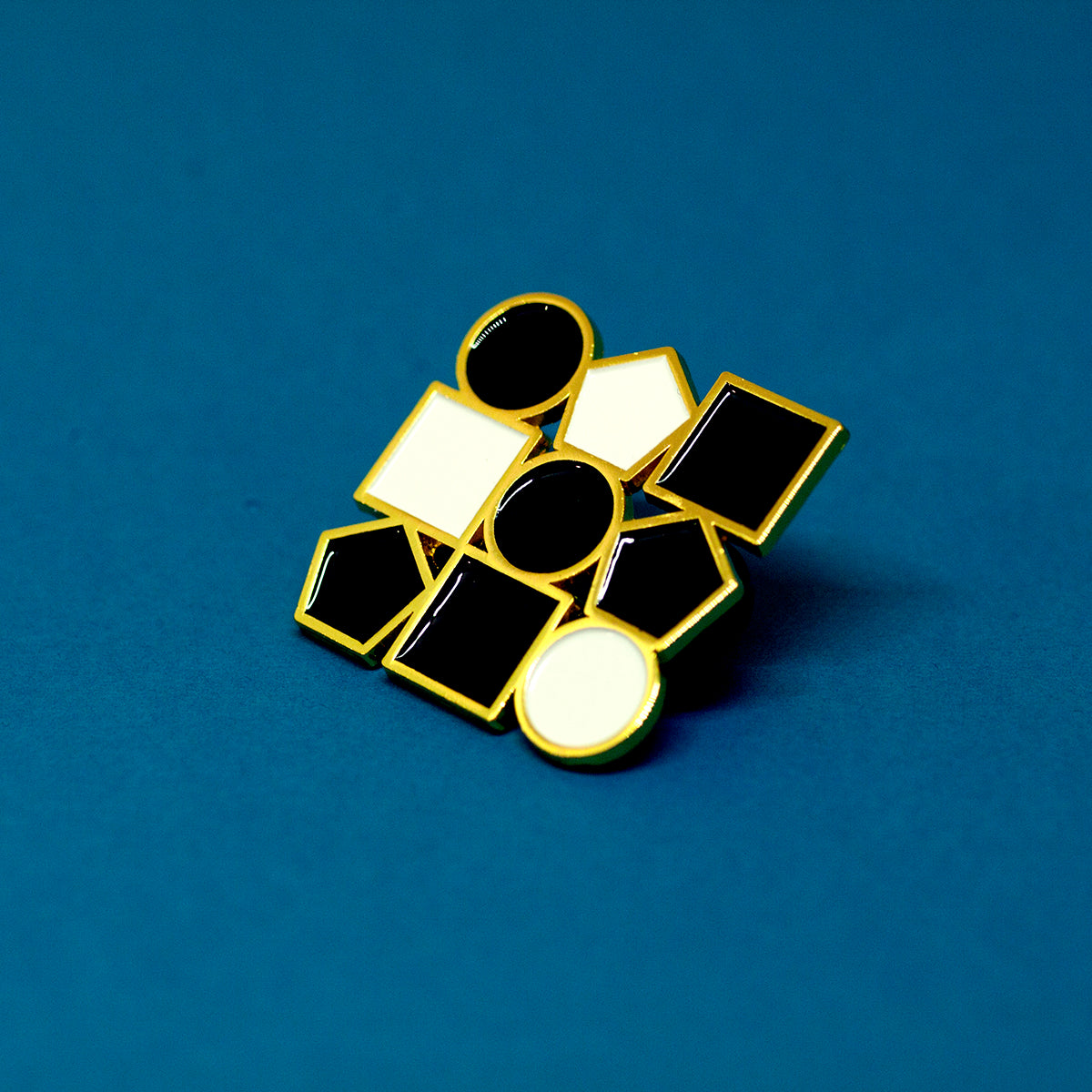 Orderly Fashion Enamel Pin