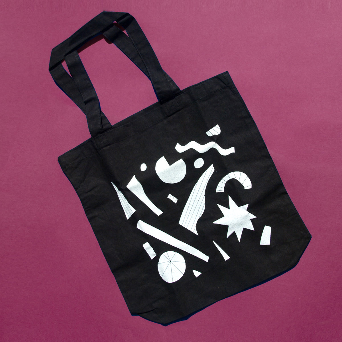 Confetti Shapes Tote Bag