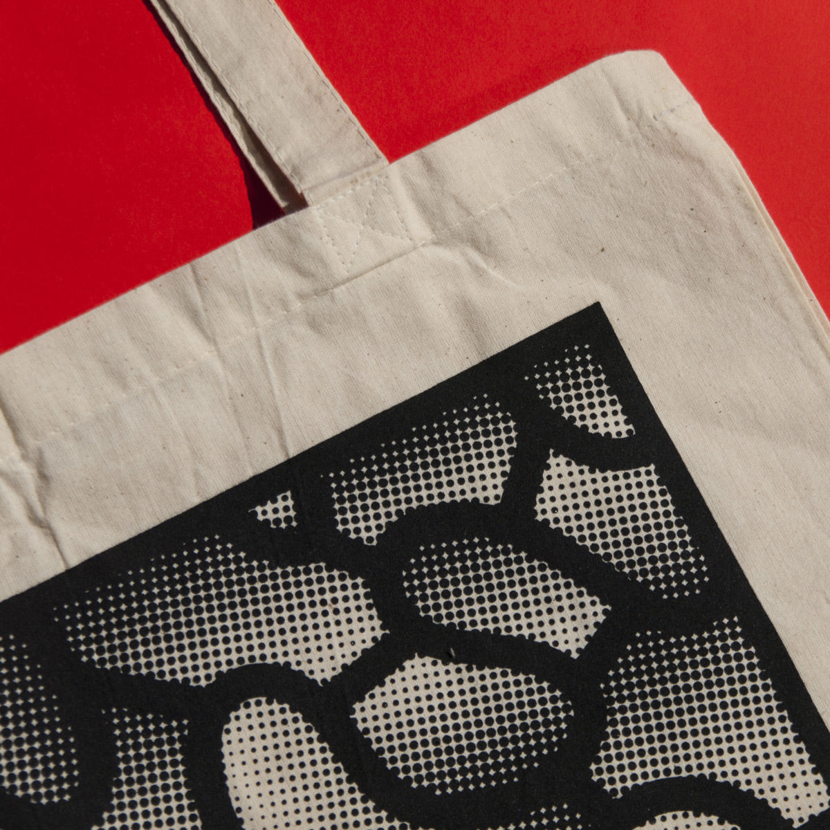 Halftone Shapes Tote Bag