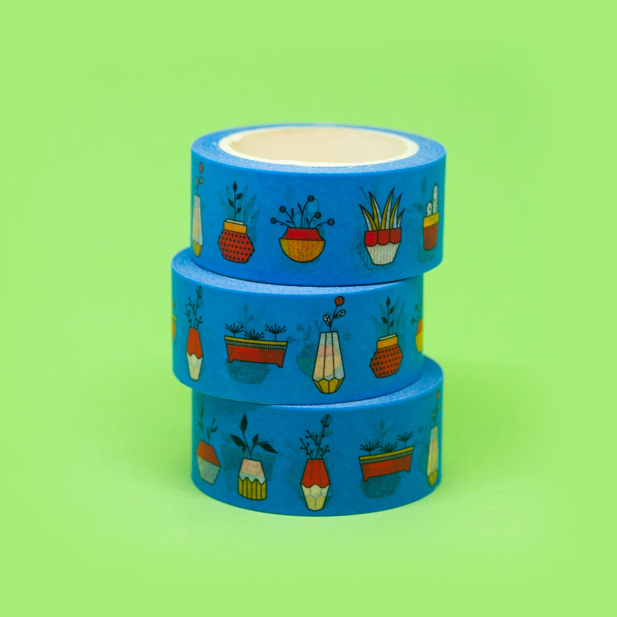 Arty Washi Tape - Plants