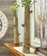 Tree Trunk Design Vase