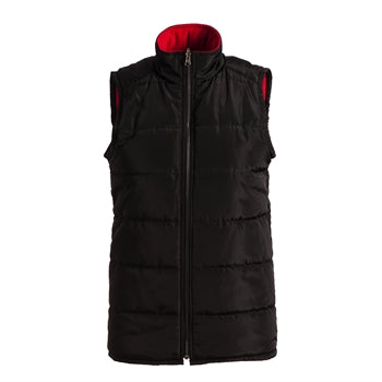 Reversible Vest - red/black