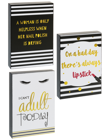 Funny Woman Plaques