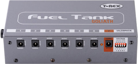 T-Rex Fuel Tank Goliath Pedal Board Power Supplier - Worcester Guitar Centre Guitar Shop