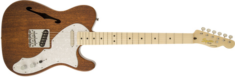 Fender Squier Classic Vibe Telecaster Thinline Electric Guitar - Natural