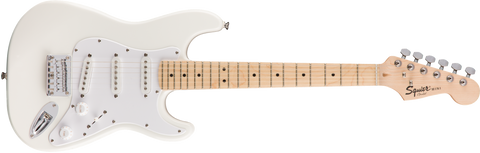 Fender Squier Mini Strat FSR Electric Guitar Maple Fingerboard - Olympic White