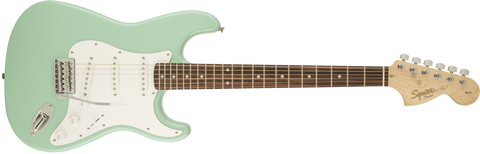 Fender Squier Affinity Stratocaster Electric Guitar Rosewood Fingerboard - Surf Green