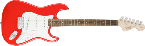 Fender Squier Affinity Stratocaster Electric Guitar Rosewood Fingerboard - Race Red