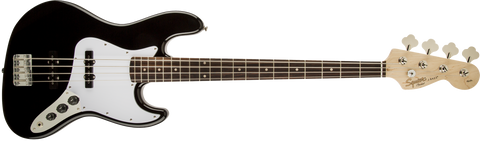 Fender Squier Affinity Jazz Bass Rosewood Fingerboard - Black
