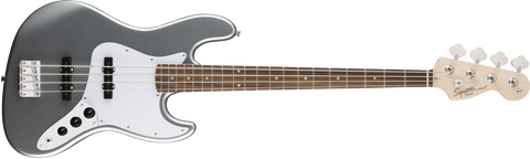 Fender Squier Affinity Jazz Bass Rosewood Fingerboard - Slick Silver
