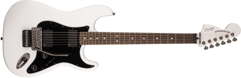Fender Squier Contemporary Active Stratocaster HH Electric Guitar Rosewood Fingerboard - Olympic White