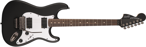 Fender Squier Contemporary Active Stratocaster HH Rosewood Fingerboard Electric Guitar - Flat Black