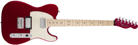 Fender Squier Contemporary Telecaster HH Electric Guitar - Dark Metallic Red