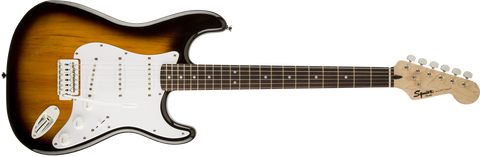 Fender Squier Bullet Stratocaster Electric Guitar with Tremolo - Brown Sunburst