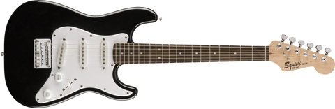 Fender Squier Mini Strat Electric Guitar Laurel Fingerboard - Black