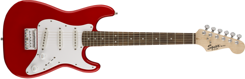Fender Squier Mini Strat Electric Guitar Laurel Fingerboard - Torino Red