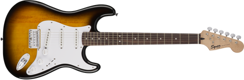 Fender Squier Bullet Stratocaster Hard Tail Electric Guitar Laurel Fingerboard - Brown Sunburst