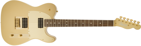 Fender Squier J5 Telecaster Electric Guitar - Frost Gold