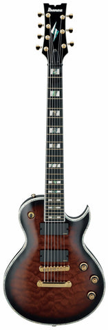 Ibanez ARZIR27FB 7 String Electric Guitar Dark Brown Sunburst - Worcester Guitar Centre Guitar Shop