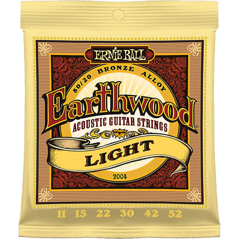 Earthwood 80/20 Bronze Light Acoustic Guitar Strings 11-52 - Worcester Guitar Centre Guitar Shop