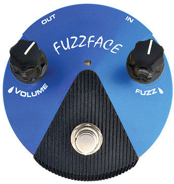 Dunlop FFM1 Silicon Fuzz Face Mini Pedal - Worcester Guitar Centre Guitar Shop