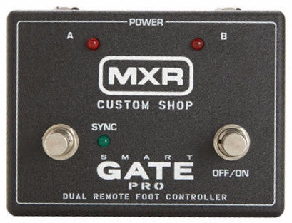 MXR M235FC Smart Gate Foot Control Pedal - Worcester Guitar Centre Guitar Shop