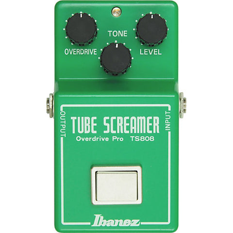 Ibanez TS808 Reissue Tube Screamer Overdrive Pedal - Worcester Guitar Centre Guitar Shop