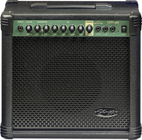Stagg 20 GA DR Electric Guitar Amp Combo - Worcester Guitar Centre Guitar Shop
