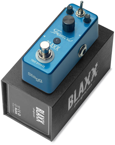 BLAXX Tremolo 2-mode Mini Guitar Pedal