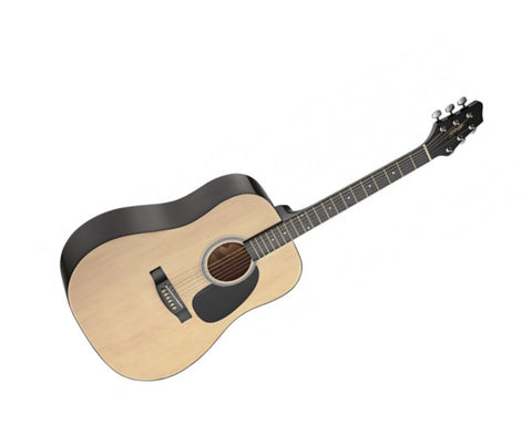 Stagg SW201 3/4 Sized Acoustic Guitar Natural Dreadnaught - Worcester Guitar Centre Guitar Shop