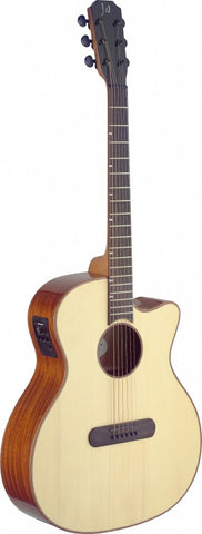James Neligan Lismore Auditorium Electro Acoustic Guitar - Worcester Guitar Centre Guitar Shop - 1