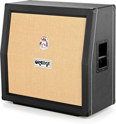 Orange PPC412 AD Angled Guitar Speaker Cabinet Black - Worcester Guitar Centre Guitar Shop