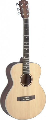 James Neligan Asyla Mini Auditorium Travel Acoustic Guitar - Worcester Guitar Centre Guitar Shop - 1