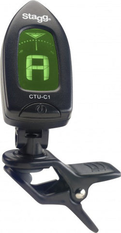 Stagg Automatic Chromatic Clip-on Tuner - Worcester Guitar Centre Guitar Shop
