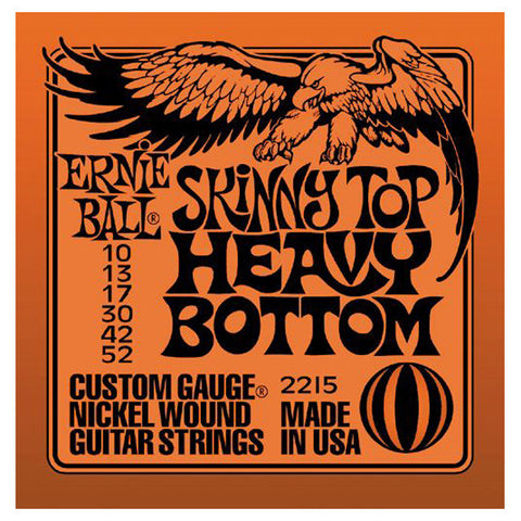 Ernie Ball Skinny Top Heavy Bottom Electric Guitar Strings 10-52 - Worcester Guitar Centre Guitar Shop