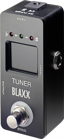 Blaxx Tuner Mini Guitar Pedal - Worcester Guitar Centre Guitar Shop