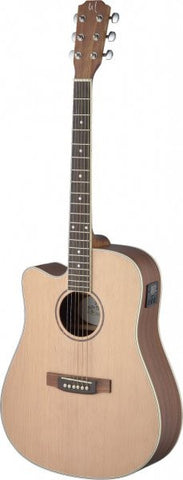 James Neligan ASY-DCE Left Handed Electro Acoustic Guitar - Worcester Guitar Centre Guitar Shop