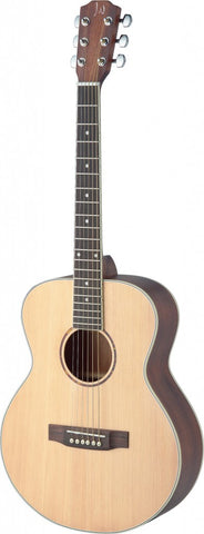 James Neligan Asyla Mini Auditorium Travel Acoustic Guitar Left Handed - Worcester Guitar Centre Guitar Shop - 1