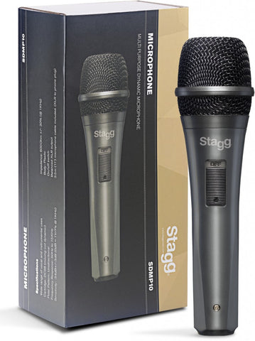 Stagg SDMP10 Dynamic Microphone - Worcester Guitar Centre Guitar Shop