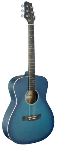 Stagg SA35 A-TB Blue Auditorium Acoustic Guitar