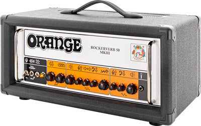Orange Rockerverb 50H MKIII Guitar Amp Head Black - Worcester Guitar Centre Guitar Shop