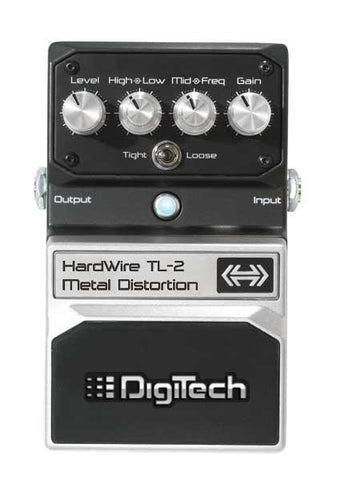 Digitech TL2 Hardwire Metal Effects Pedal - Worcester Guitar Centre Guitar Shop