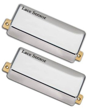 Lace Mini Nitro Hemi Pickup Set in Chrome - Worcester Guitar Centre Guitar Shop