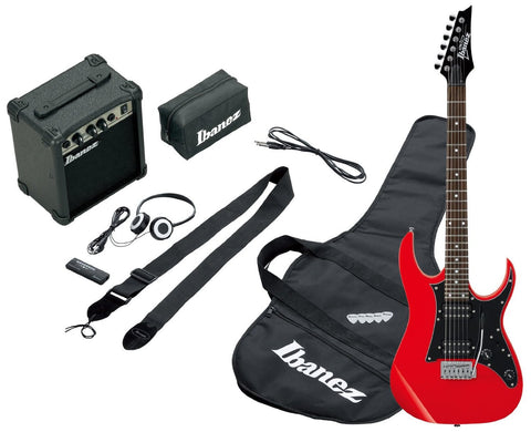 Ibanez IJRG200E-RD Jumpstart Electric Guitar Pack Red - Worcester Guitar Centre Guitar Shop