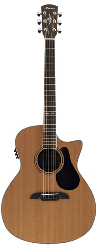 Alvarez AG75CE Grand Auditorium Electro Acoustic Guitar Natural - Worcester Guitar Centre Guitar Shop