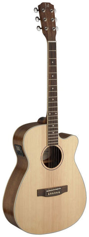 James Neligan ASY-ACE Auditorium Electro Acoustic Guitar - Worcester Guitar Centre Guitar Shop - 1