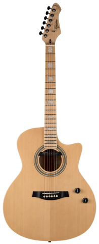 Revelation Hybrid Axel SM Acoustic Guitar - Natural
