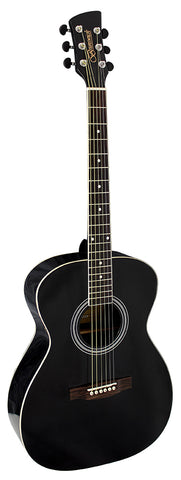 Brunswick BF200 Folk Acoustic Guitar - Black
