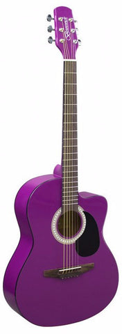 Brunswick BTK10PR Junior Auditorium Purple - Worcester Guitar Centre Guitar Shop