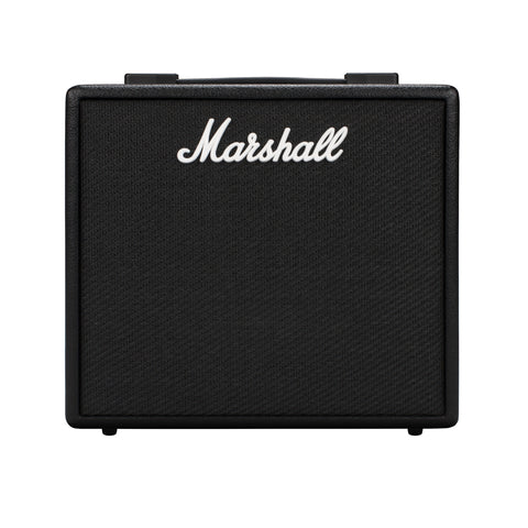 Marshall CODE 25 Watt 1x10 Combo Digital Guitar Amplifier w/ Bluetooth - Worcester Guitar Centre Guitar Shop - 1